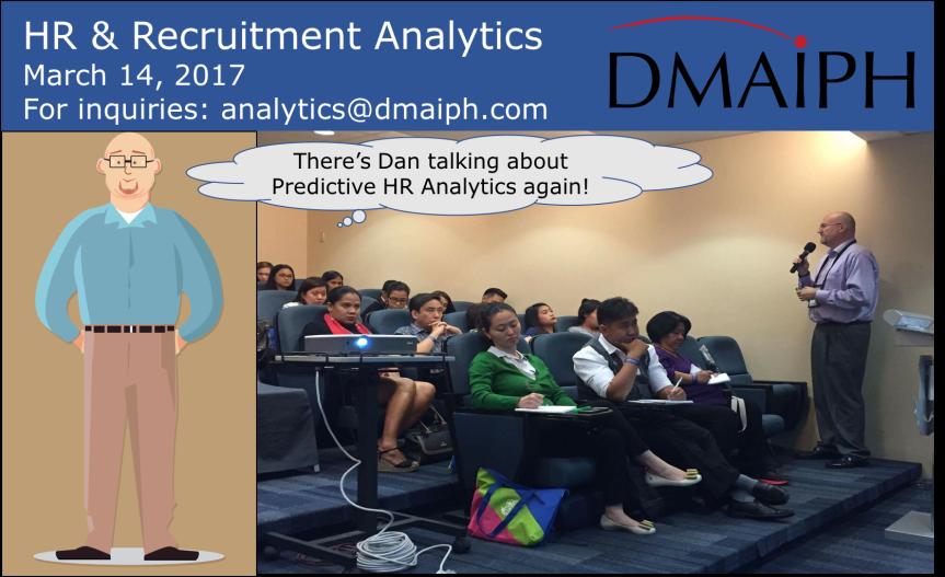 The Three T's of Recruitment Analytics (next training on Mar 14 inOrtigas)