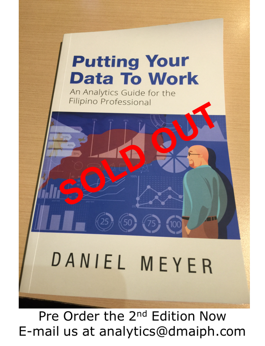 Putting Your Data to Work is SOLD OUT! Working on the 2nd EditionNow!