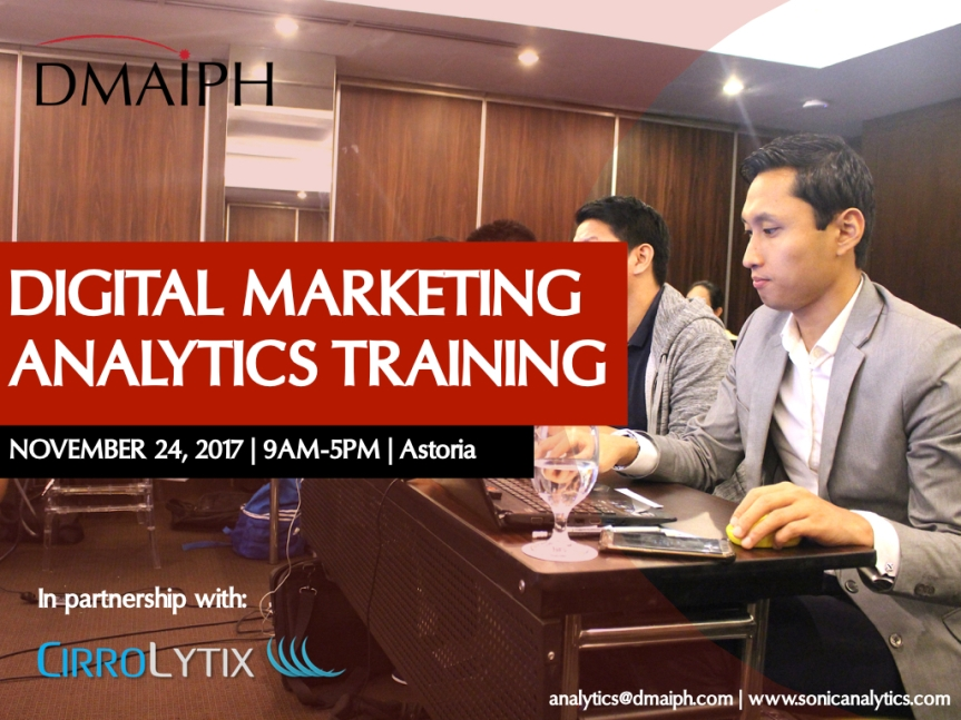 Digital Marketing Analytics on November 24
