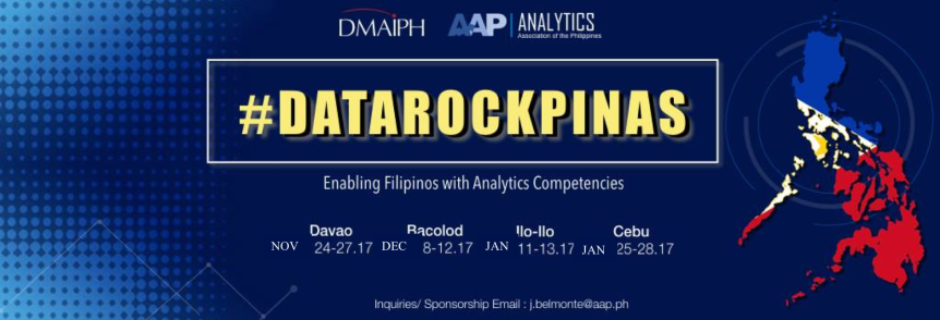 #DataRockPinas: Uplifting Big Data Believers and Converting Analytics Skeptics