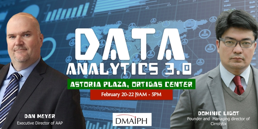 DATA Analytics 3.0: Big Data, Data Value Chain and Data Visualization with Tableau – February 20-22, 2018