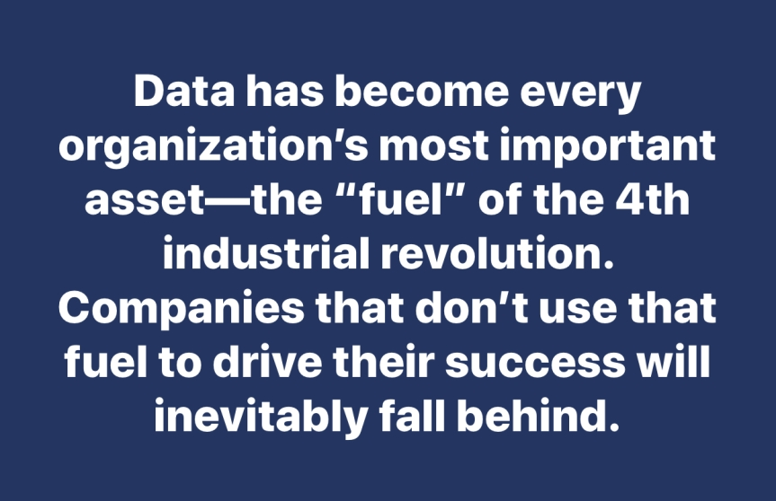 Data is the Oil