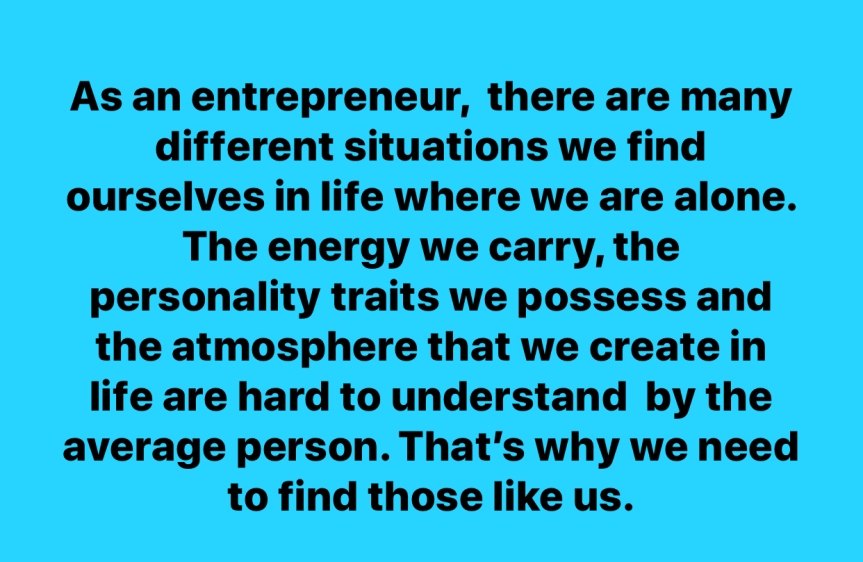 An Entrepreneur's Atmosphere