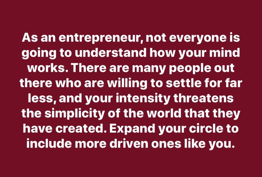 It's an Entrepreneur's Life forMe