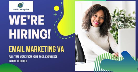 Now Hiring: Email Marketing Analyst