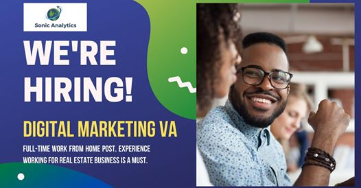 Now Hiring: Digital Marketing VA